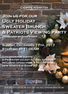 Ugly Sweater Brunch Poster