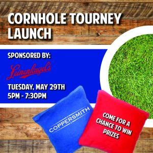 Cornhole Tourney Launch